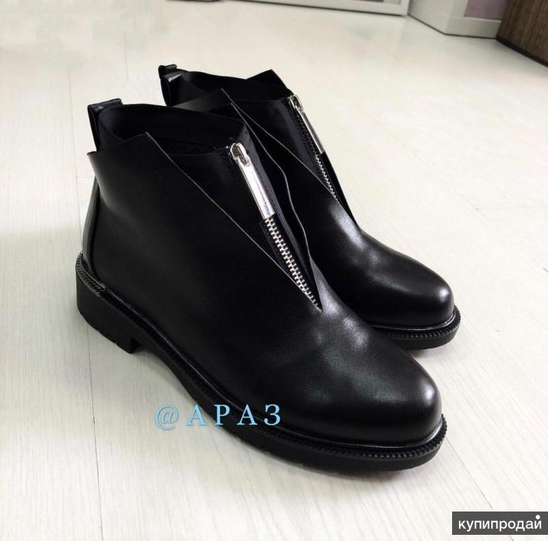 Новые демисезонные ботинки 37,5-38 размера