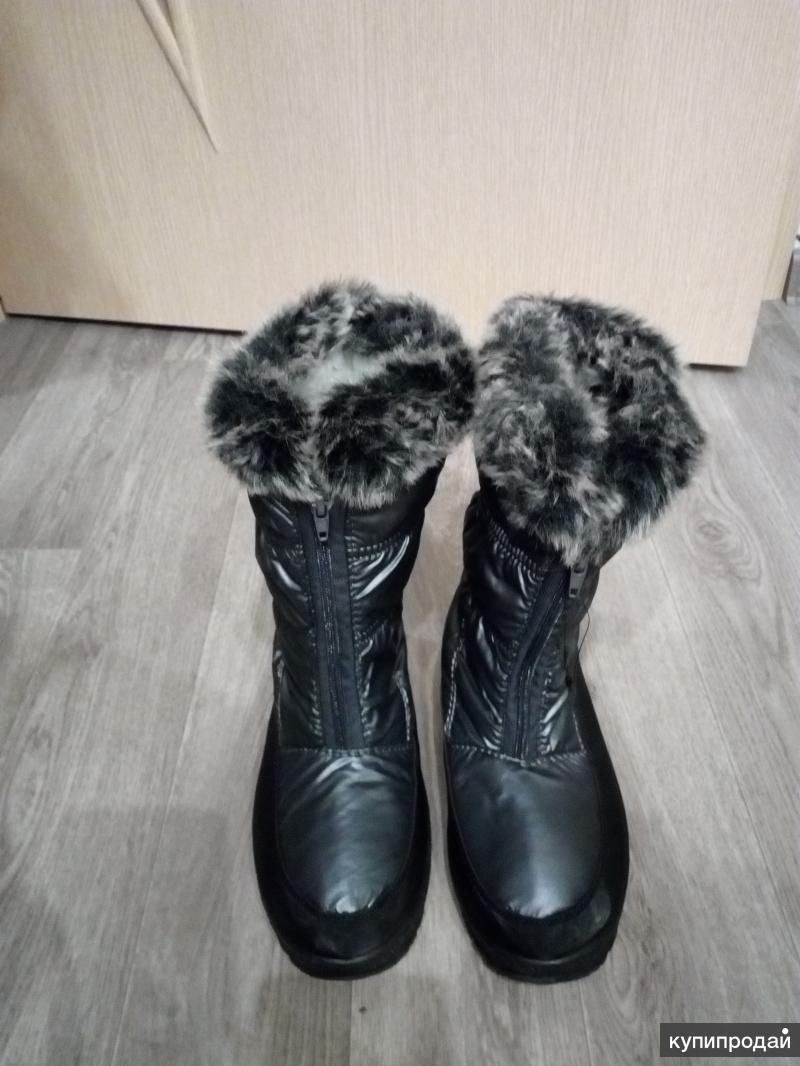 Новые зимние сапоги 36-37р