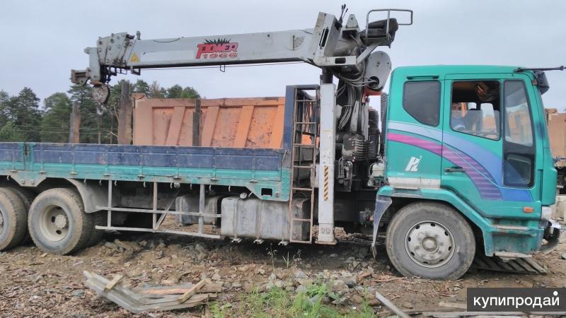 Аренда крана-манипулятора DAEWOO ULTRA NOVUS 10 тонн