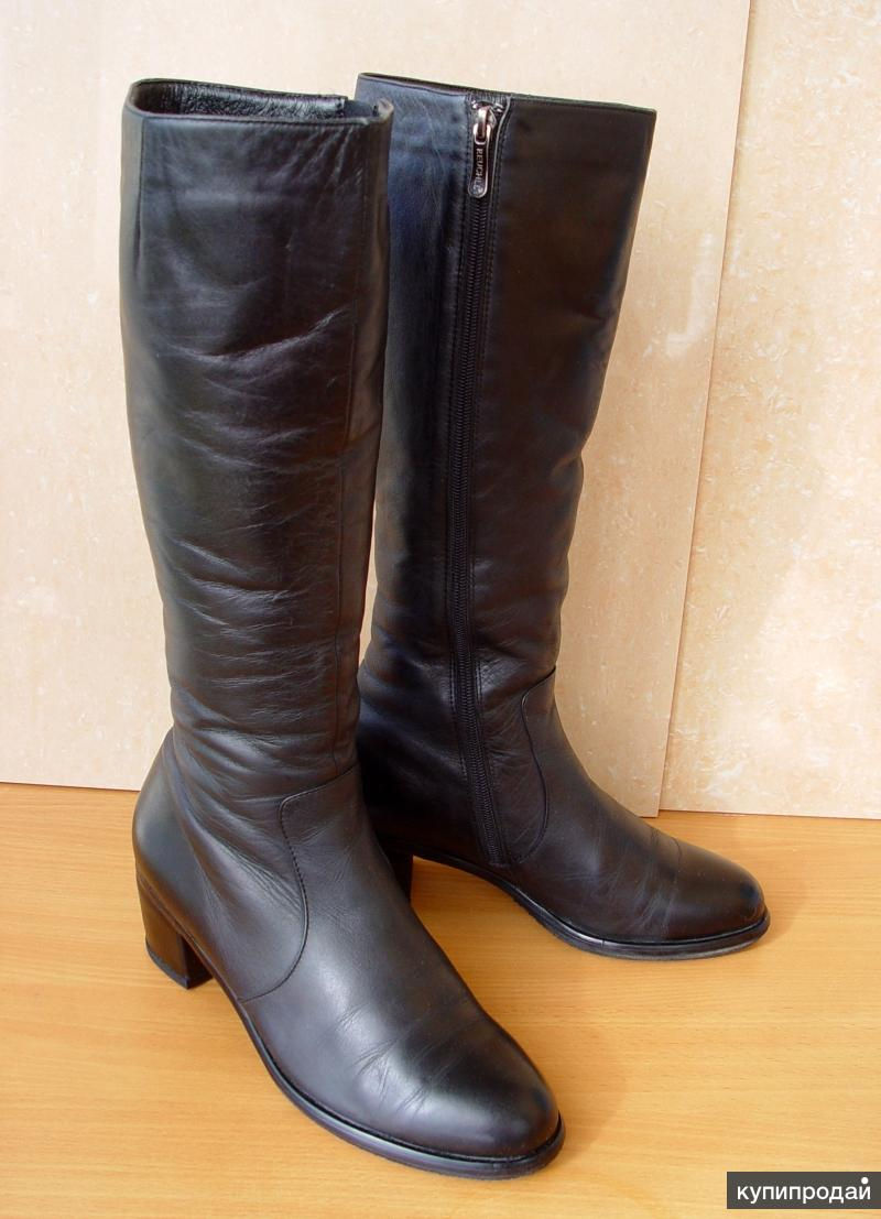 Сапоги зимние, натуральная кожа,мех,39 размер