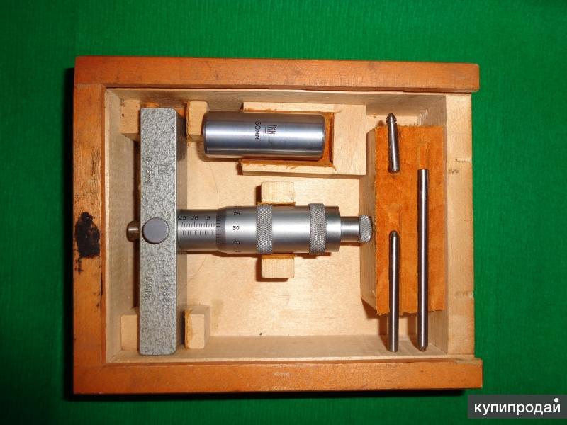 Глубиномер микрометрический 0-75 мм ГОСТ 7470-55