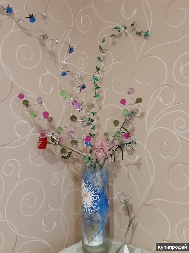 Искусственные цветы для ваз