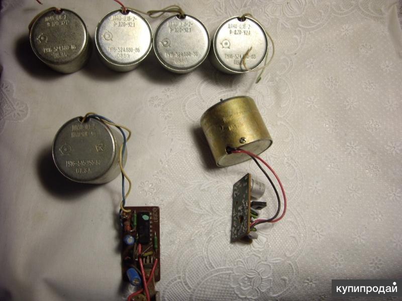 Моторчики разные для радиолюбителей