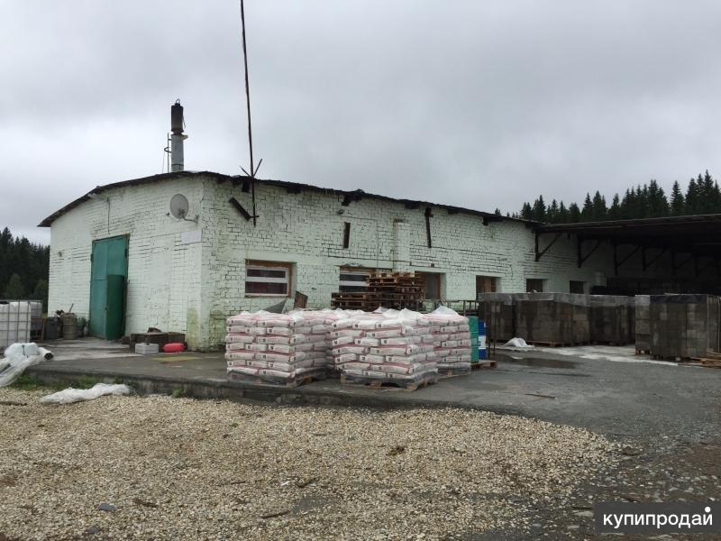 Продам действующий бизнес по производству арболитового строительного блока