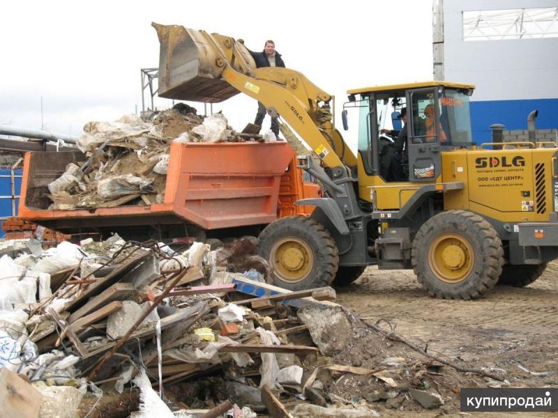 Вывоз строительного и бытового мусора с официальной утилизацией