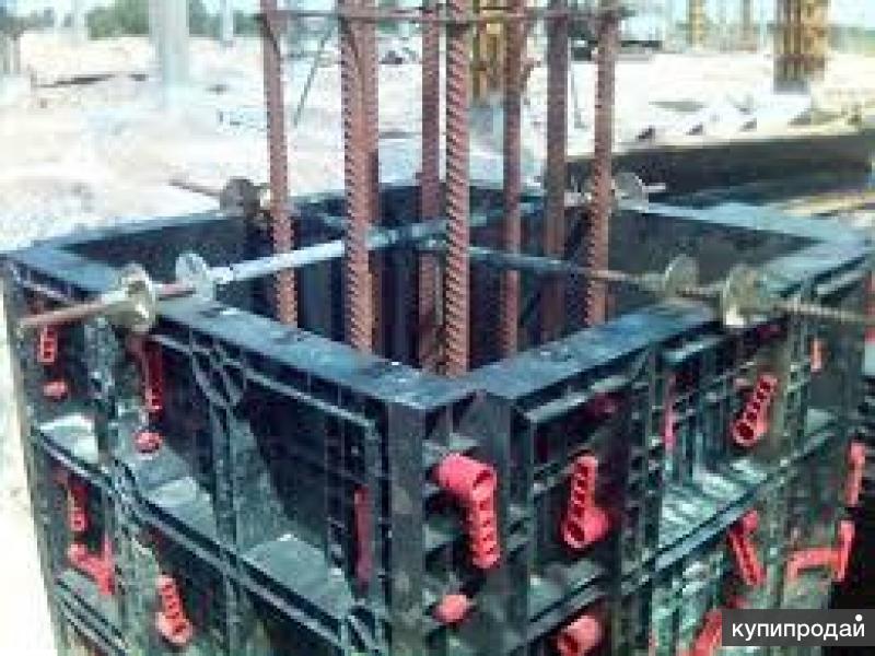монтаж строительной опалубки