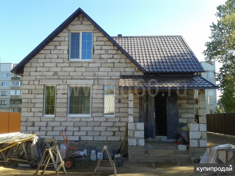 Строительство домов, коттеджей, бань под ключ!