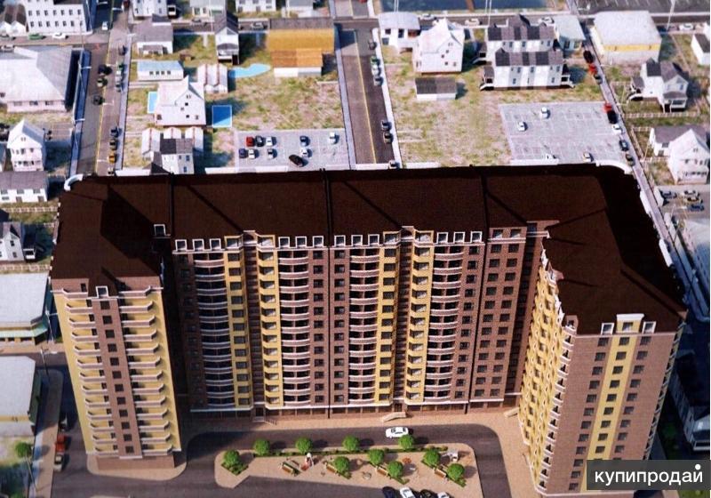 Продается 3-к квартира, 106 м2, 4/12 эт. в центре города от застройщика
