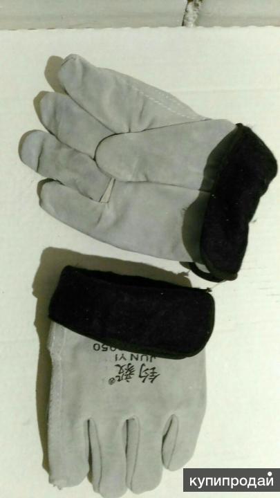 Перчатки цельноспилковые утепленные Драйвер мех
