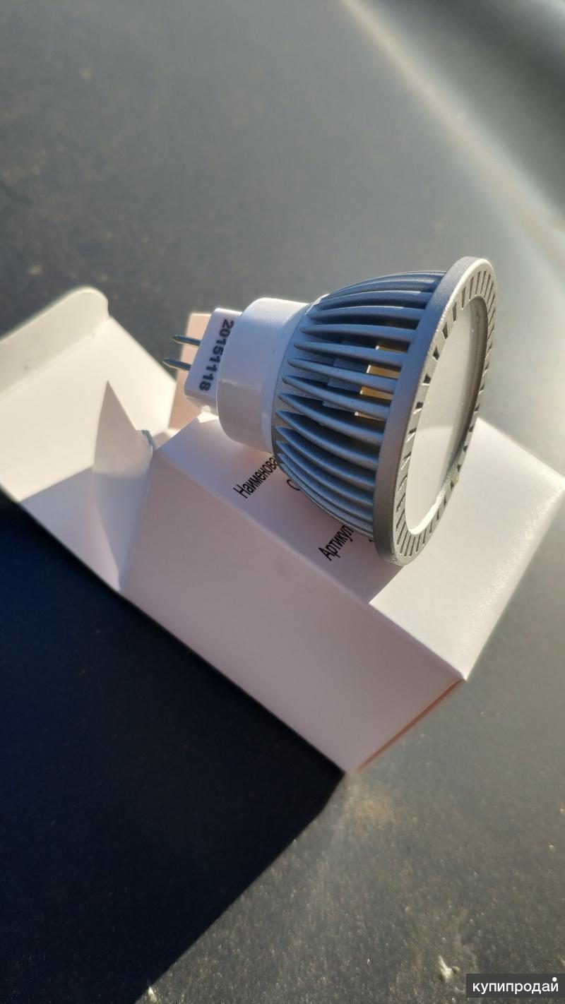 Светодиодная лампа 120 MR16(GU5,3) 7 Ватт 220 Вт