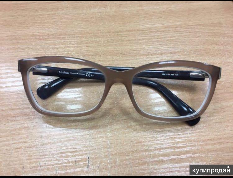 Оригинальная оправа очки MaxMara с футляром