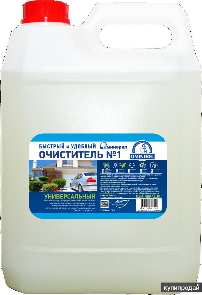 """Очиститель универсальный """"Минерал"""" 5 литров"""