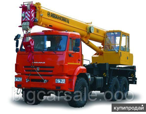 Кран КС-35714К-2 на шасси КАМАЗ-43118