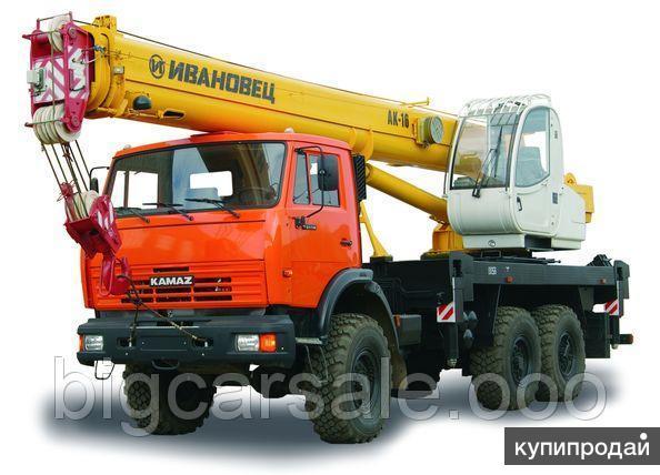 Кран КС-35714К-2-10 на шасси КАМАЗ-43118
