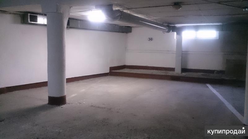 Продаю место в охраняемом подземном паркинге, 34м2. Ул. Стрелковая, д.1