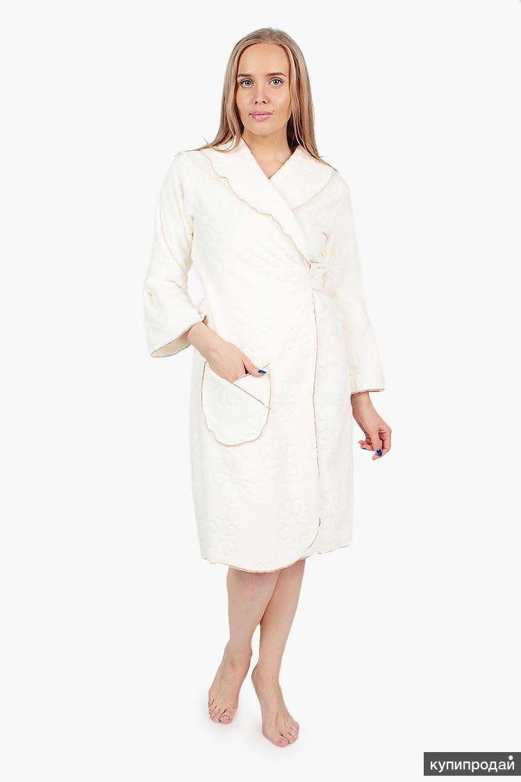 Халаты женские от производителя, недорого