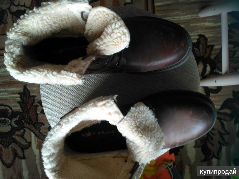 Продам новые зимние ботинки из натуральной кожи