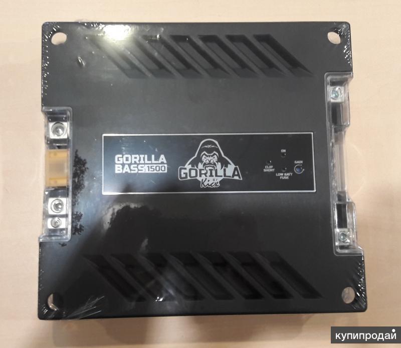 В магазин Dialog поступил в продажу МоноусилительKICX GORILLA BASS1500