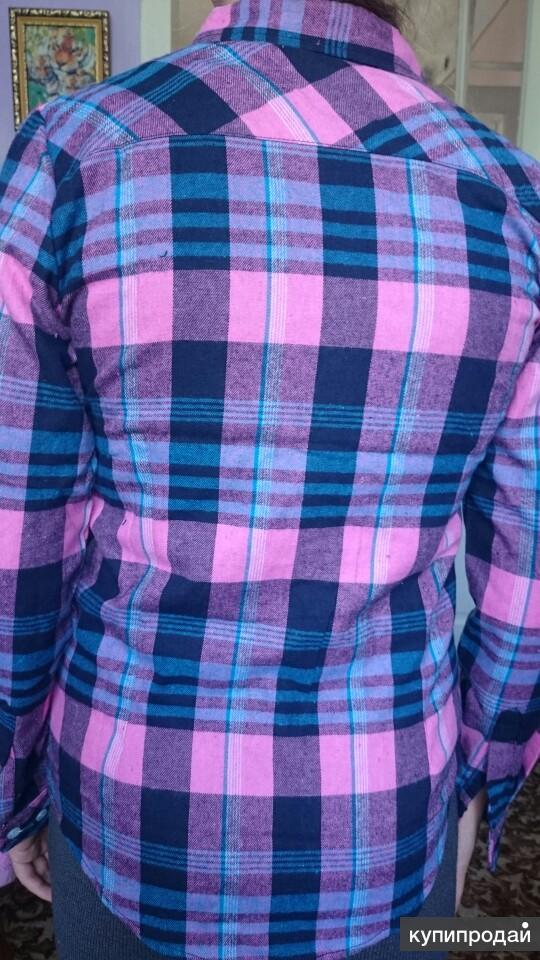 Модная и красивая женская фланелевая рубашка