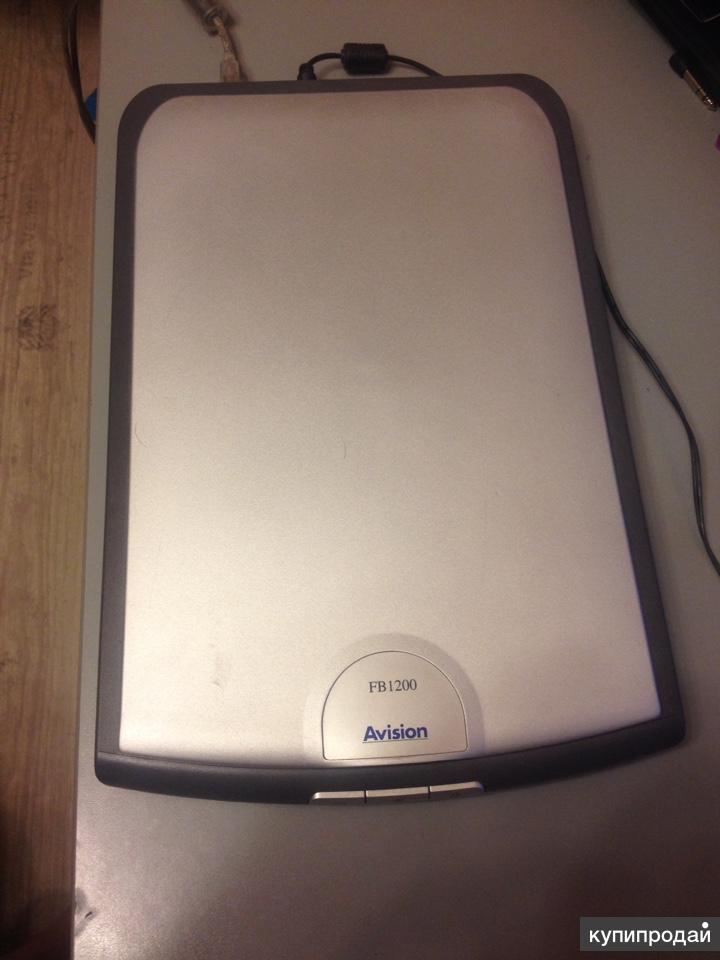 Планшетный сканер Avision FB1200