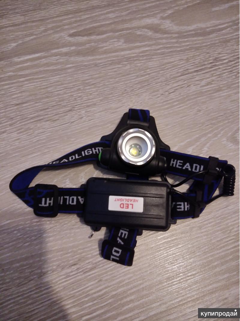 светодиодный налобный фонарь с регулируемым зумом
