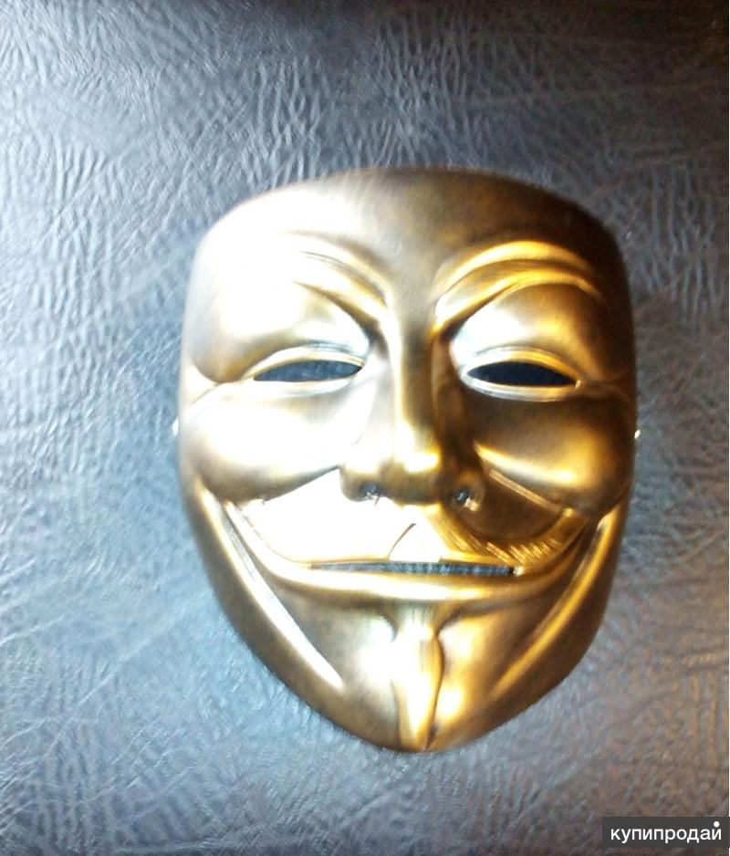 Карнавальная маска Гая Фокса