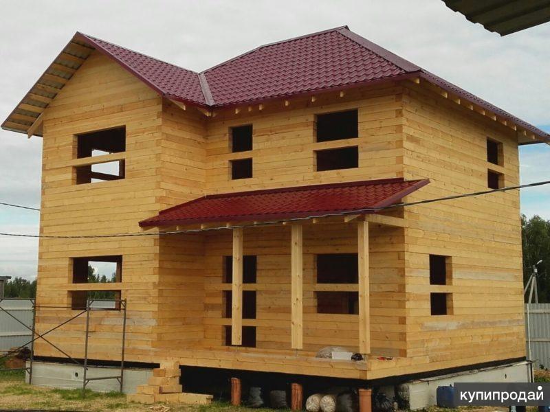 Строительство домов и бань из бруса от СК КосБруС-Галич