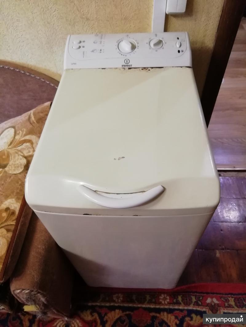 Стиральная машина с верхней загрузкой INDESIT