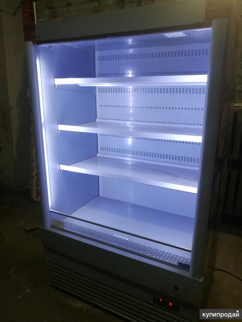 Горка и холодильный шкаф-купе