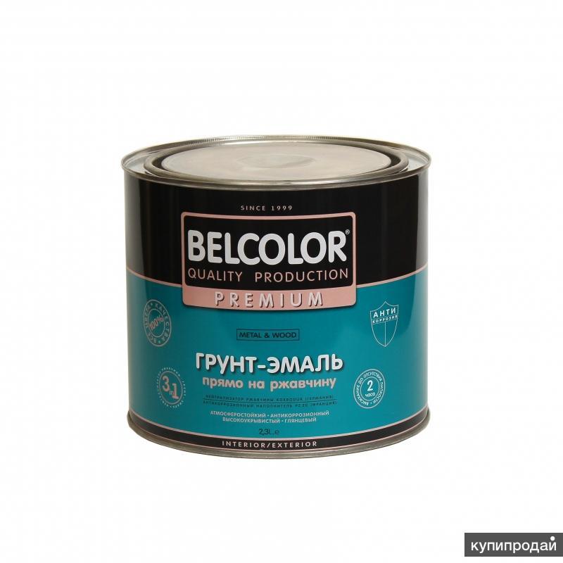 Грунт-Эмаль по ржавчине АУ-1356 1,9кг серый голубой, коричневый, черный