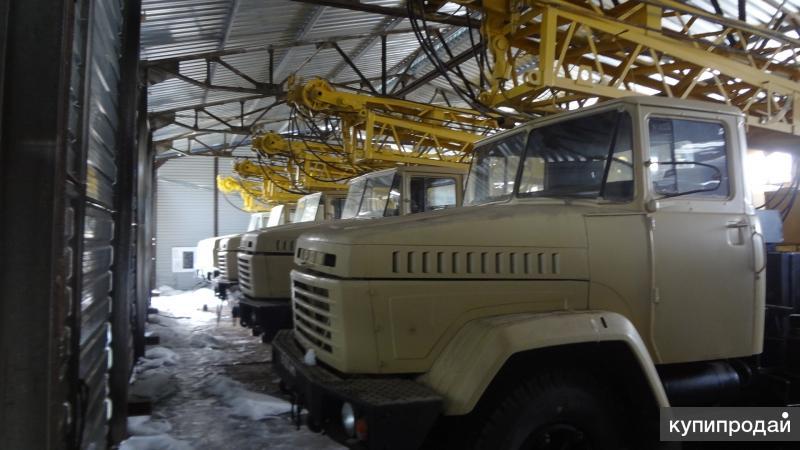 Кран на автомобильном ходу КРАЗ-250  КС-4562 шасси № 757827