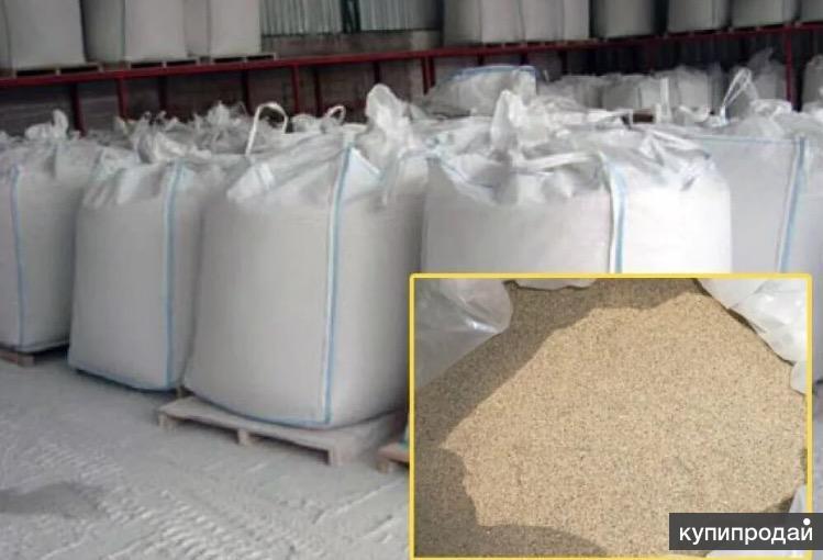 песок для пескоструя в мешках