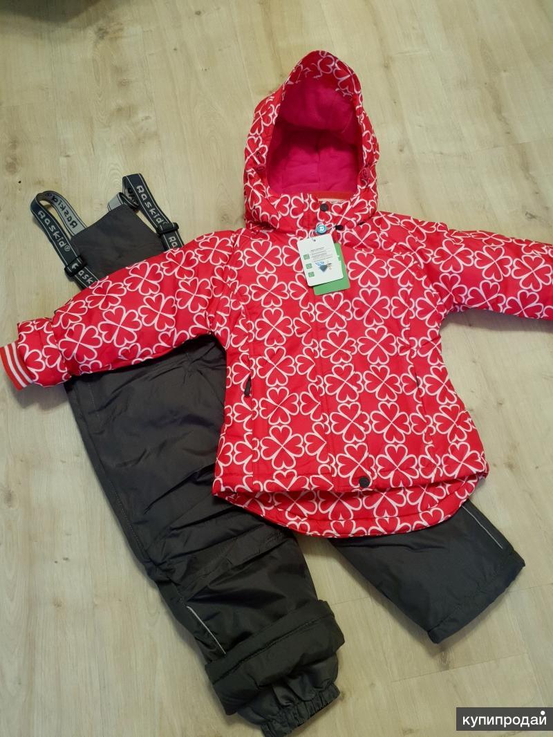 Новый зимний костюм от 110 до 140