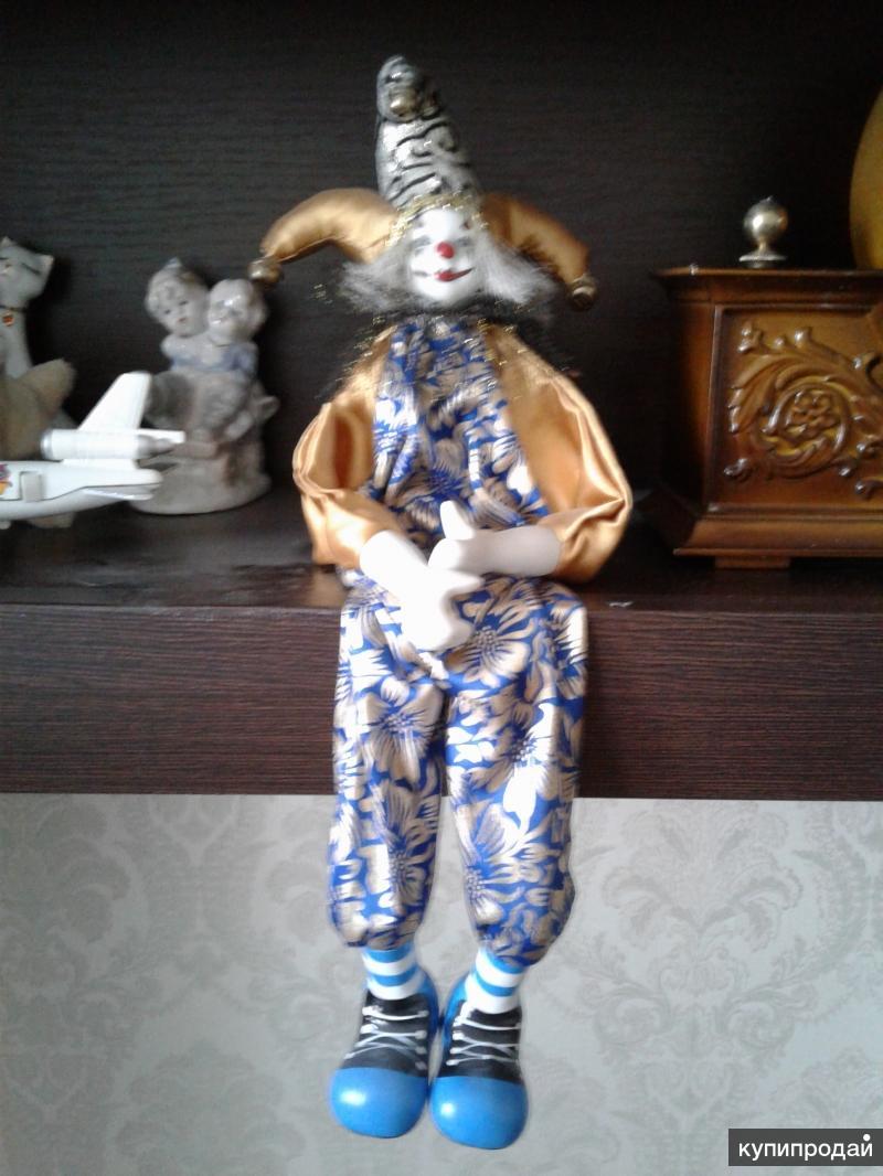 Клоун декоративный 37см