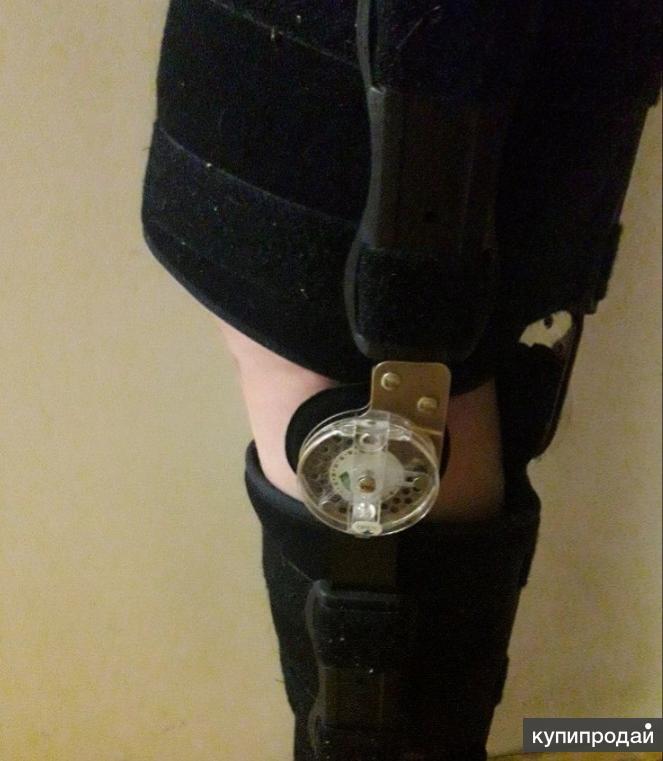 Ортез (брейс) на коленный сустав с ребрами