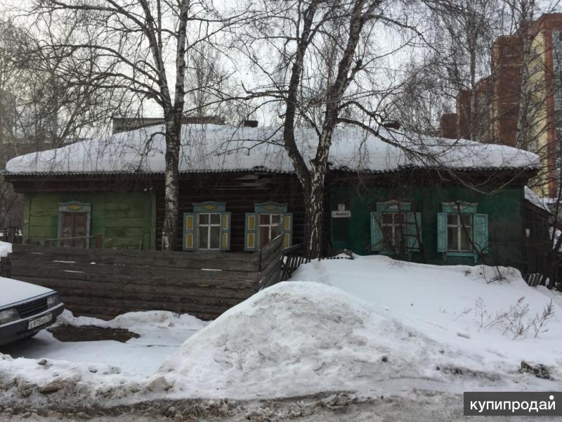 Продается 1-этажный деревянный дом в г. Томске на ул.