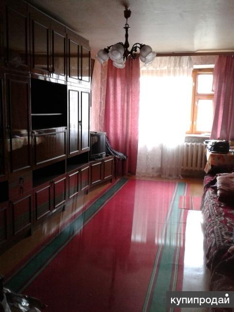 3 комнатная квартира брежневка, п.строители, ул. Предзаводская 1а