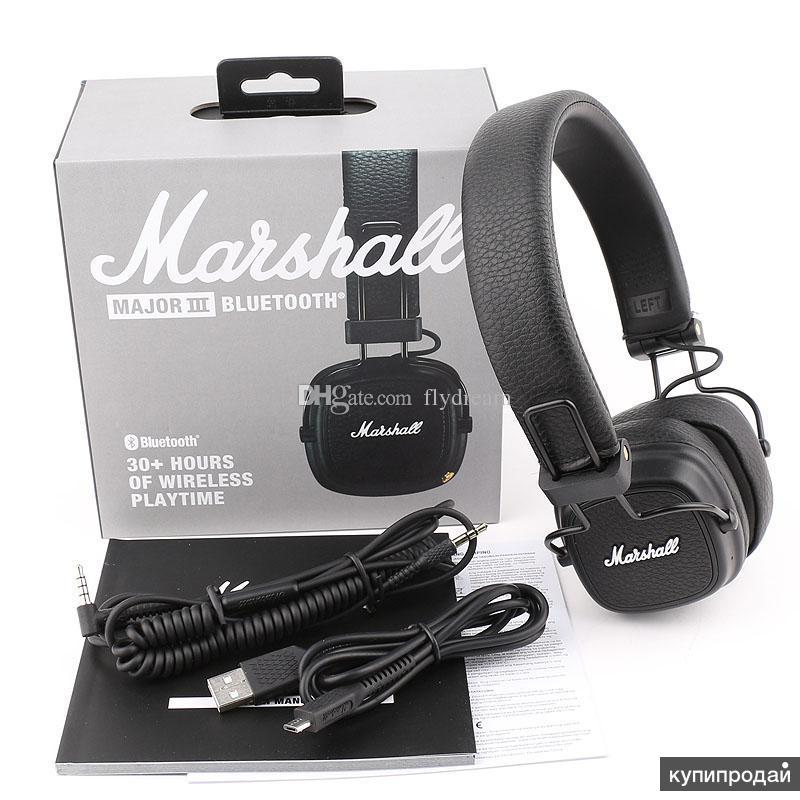 Беспроводные наушники Marshall major 3 Bluetooth (новые)