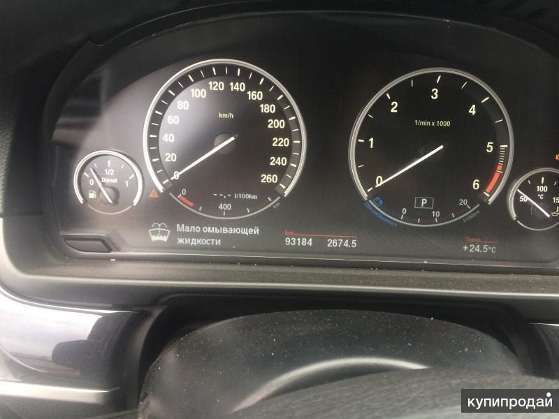 BMW 520d, 2016 г.в. г. Москва