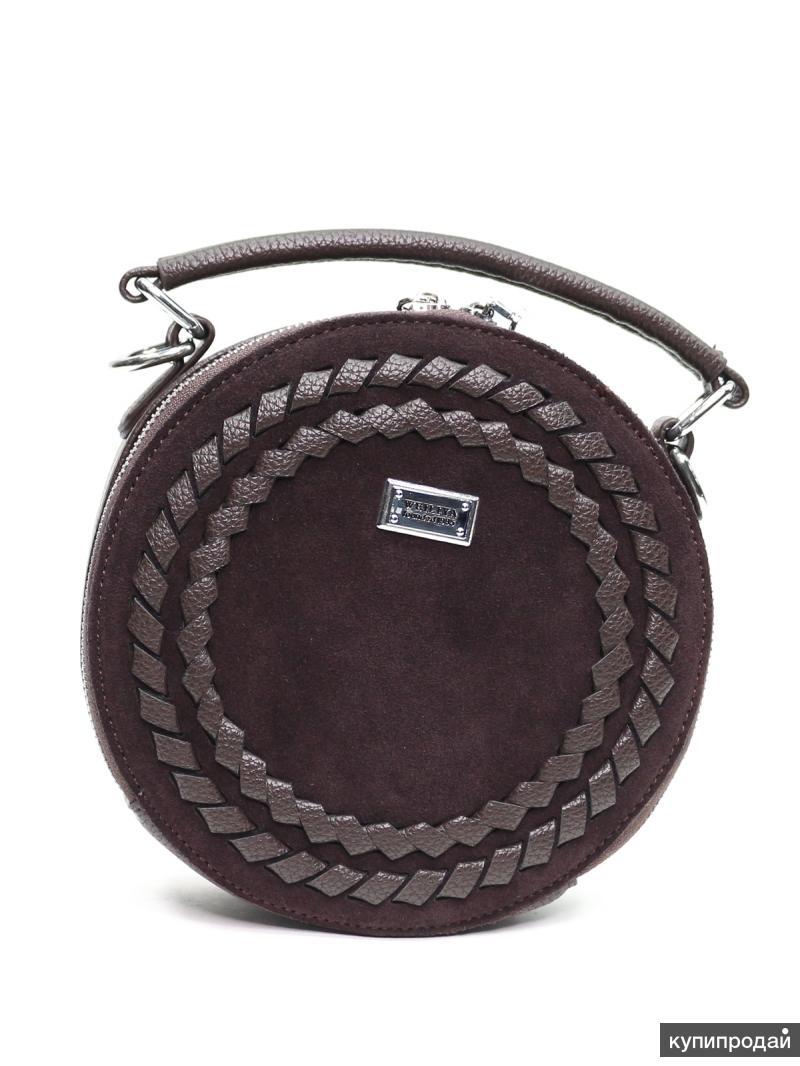 Новая замшевая сумочка