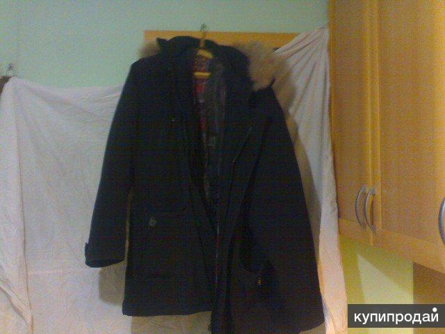 куртка зимняя новая с подкладом