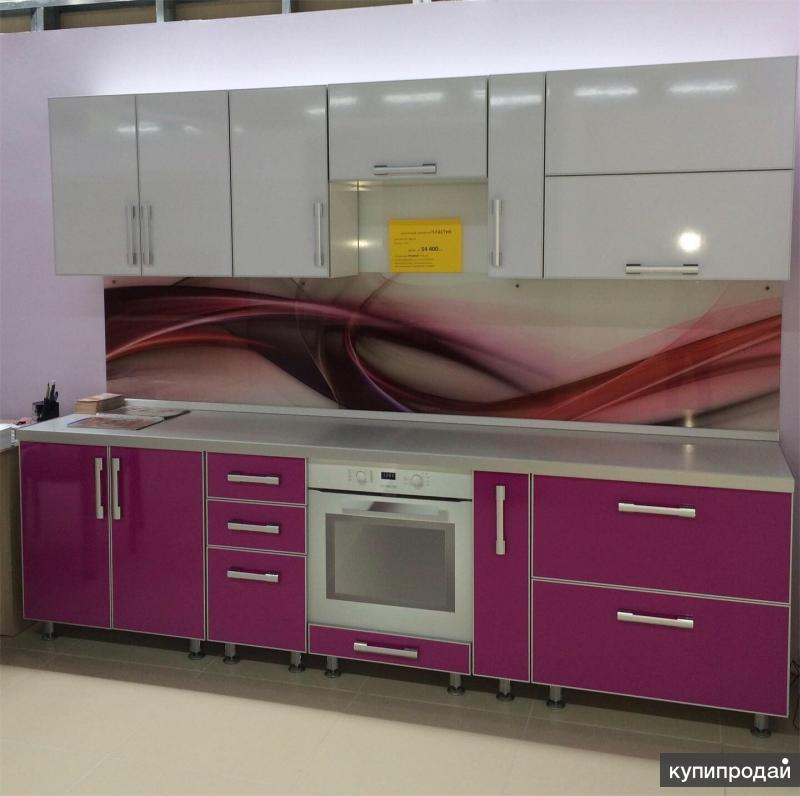 Кухонный гарнитур пластик