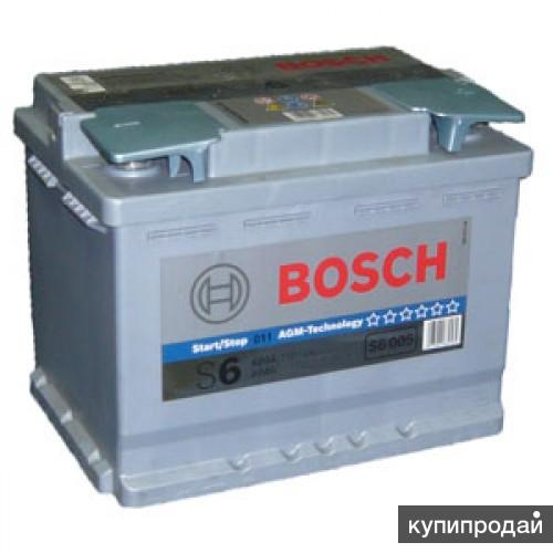 Аккумулятор BOSCH S6 AGM HighTec 60 Ah