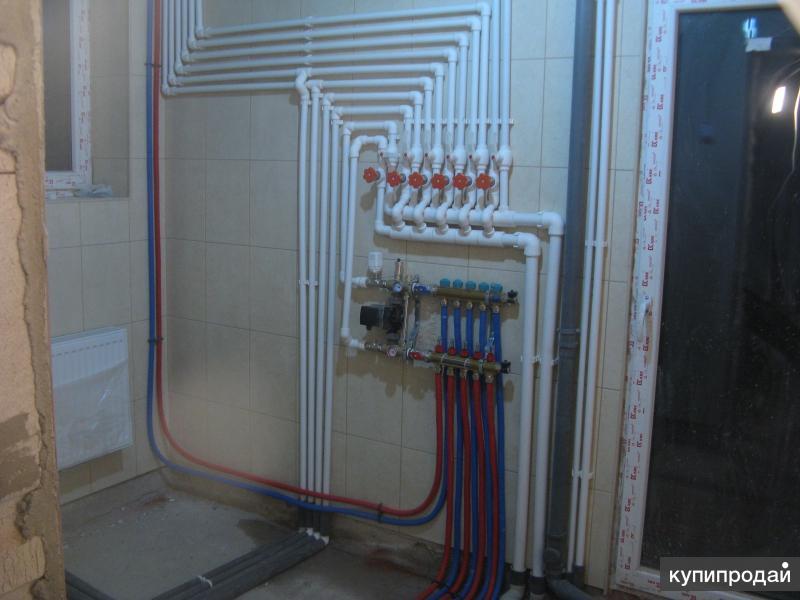Монтаж систем отопления, водопровода и канализации