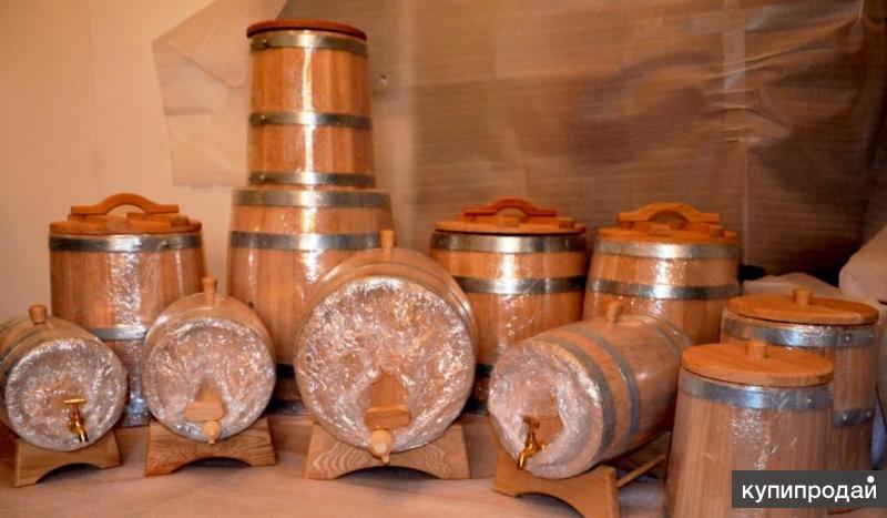 Бочка дубовая для спиртного и засолки