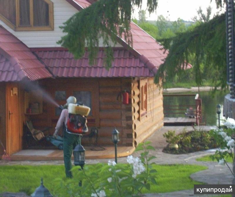 санобработка борьба с тараканами клопами блохами комарами Йошкар-Ола Медведево
