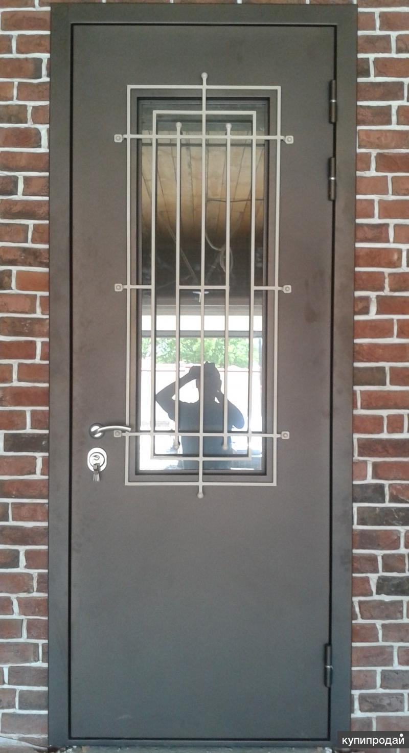 дверь входная металлическая проем