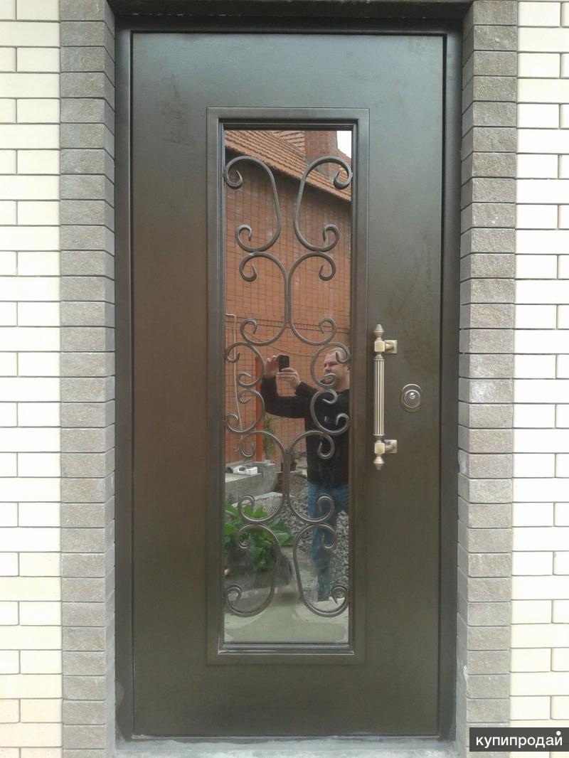 купить входные металлические двери со стеклом в московской области