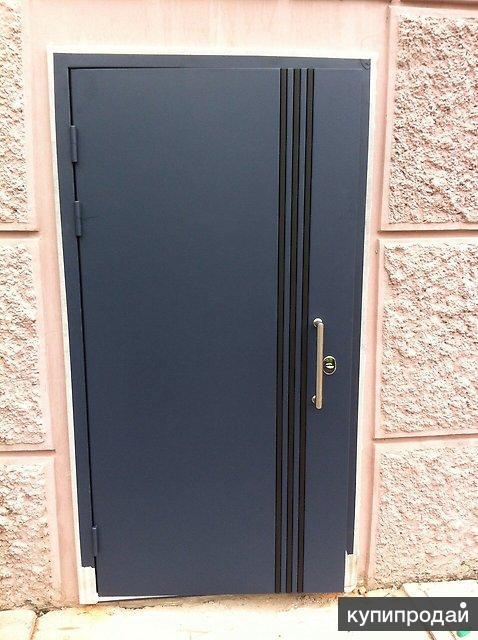 Утепленные двери с терморазрывом