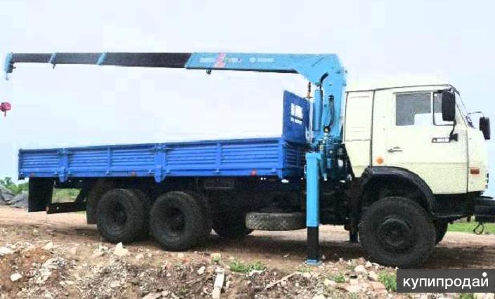 Манипулятор Камаз, Хендай от 5 до 16 тонн.